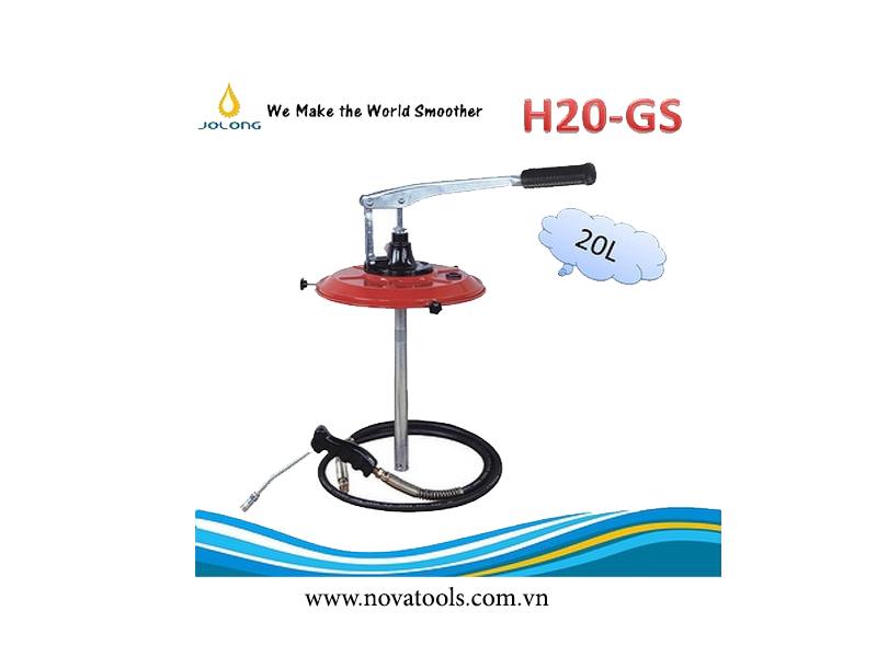 THIẾT BỊ BƠM MỠ BÒ BẰNG TAY JOLONG H20-GS